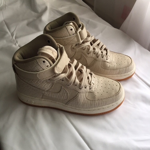 Nike Shoes | Snakeskin Hitop Air Force